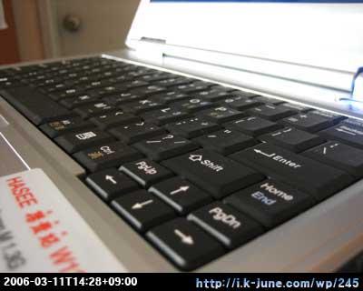 양귀비 노트북 키보드