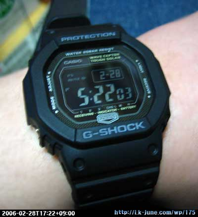 Casio G-SHOCK GW-5600BJ-1JF(The G)