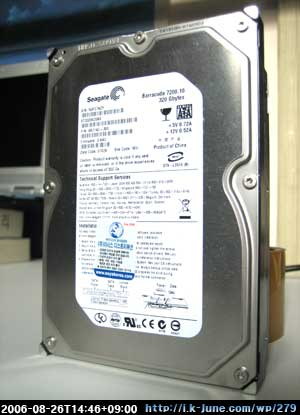 Seagate Barracuda 7200.10 320GB SATA2