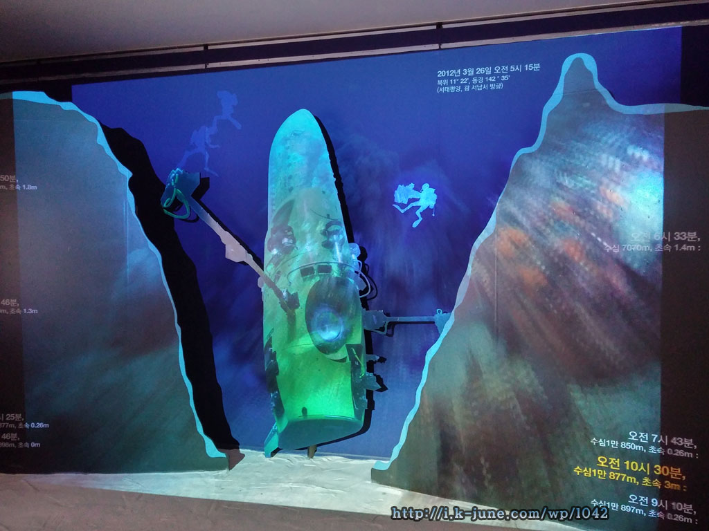 내셔널지오그래픽전 해저