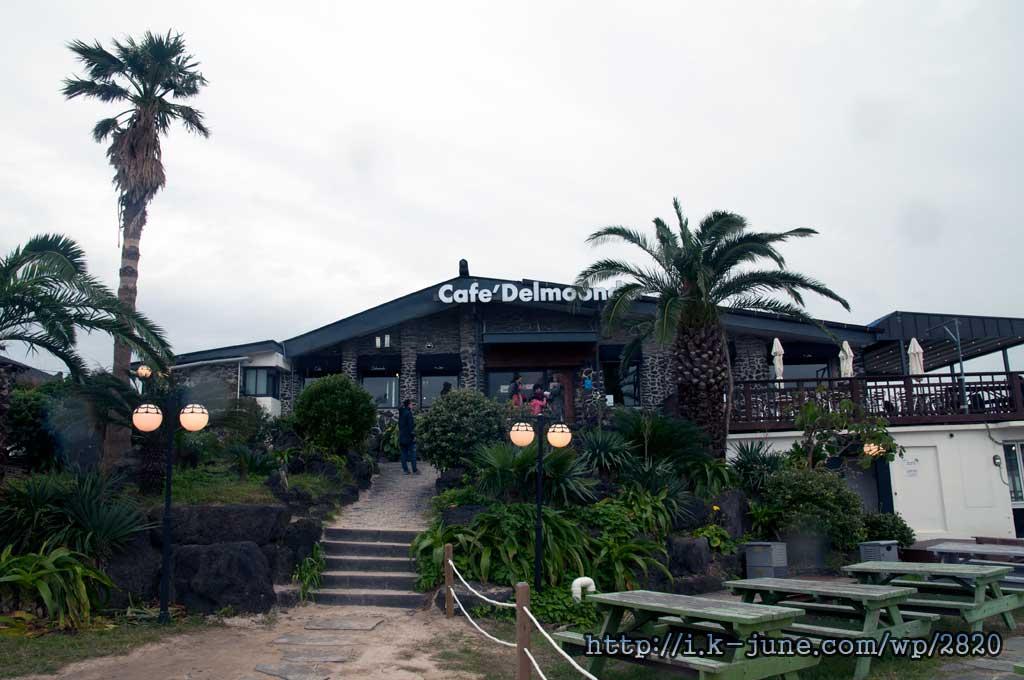 카페 델문도의 모습. 입구는 2층에 있다.