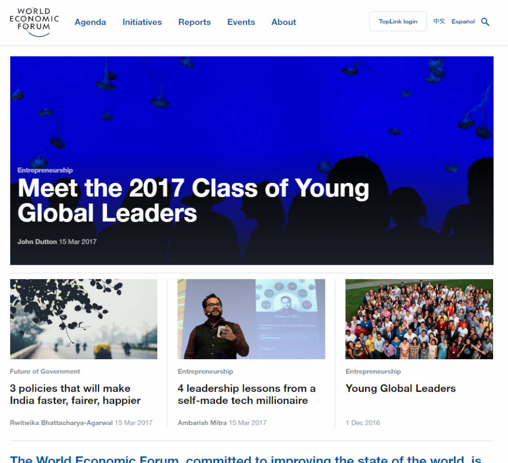 Meet the 2017 Class of Young Global Leaders