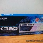 완전방수 키보드를 샀다. 하지만 전기가 통했다. 앱코 K360 키보드 5분밖에 사용할 수 없었던 사용기.