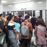판교역에서 경강선을 타고 여주역까지 갔다. 시범운행 기간이었지만 사람이 엄청나게 많았다.