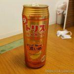 위스키에 레몬을 섞은 맛이 나는 알콜농도 9%짜리 일본 편의점 사케, 선토리 토리스 하이볼(トリス ハイボール)