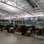 인천공항에서 노숙을 하게 되었다.
