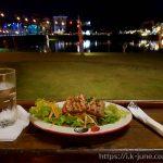 분위기 좋은 치앙마이 삥강 근처 레스토랑 The River Market Restaurant에서 참치 타다끼를 먹었다.