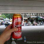 방콕 노숙자 느낌이 물씬 나는 고가도로 밑에서 낮술을 마셨다.