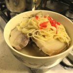 나리타공항 면세점에서 구입한 일본라멘 하카타 나가하마 생라멘(博多 長浜 生ラーメン) 시식기